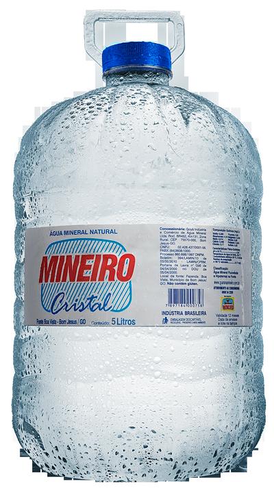 Água Mineiro Cristal 5 litros