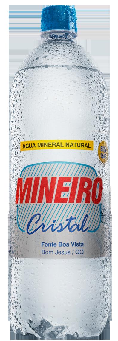 Água Mineiro Cristal 1,5 litro