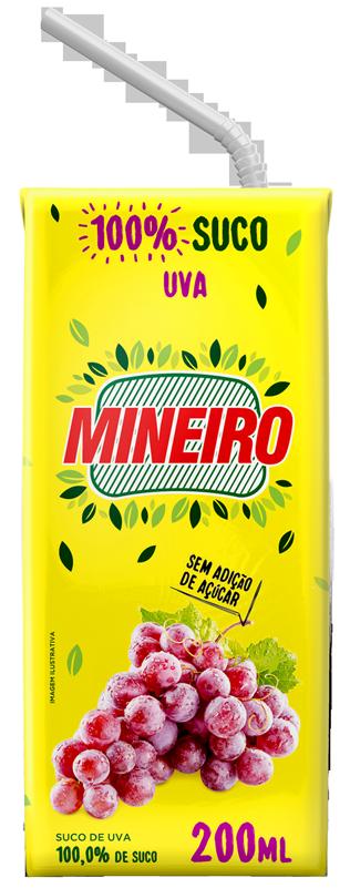Suco de Uva Mineiro 200ml