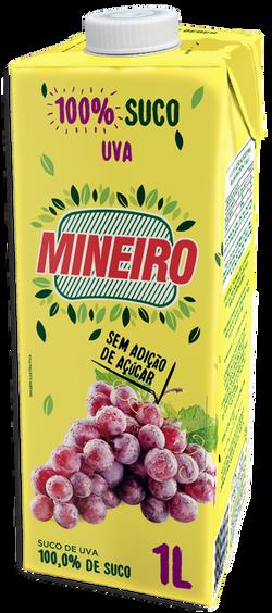Suco de Uva Mineiro 1 litro