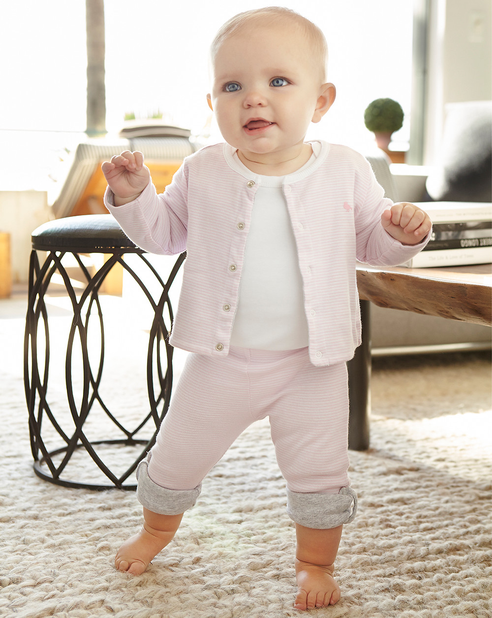 Bebê andando