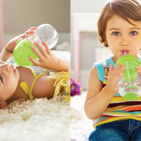 Saiba porque o hábito de beber água deve começar ainda na infância