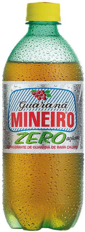 Guaraná Mineiro Zero 600ml