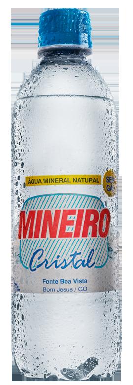 Água Mineiro Cristal sem Gás 500ml