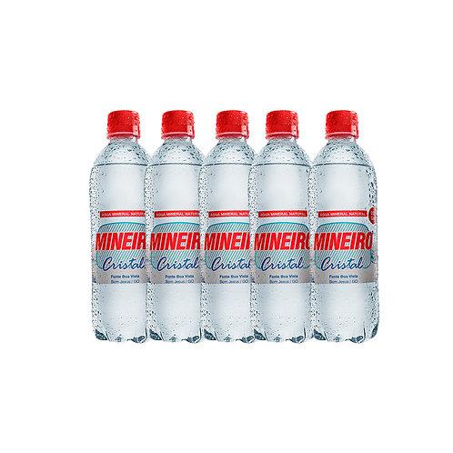 Água Cristal Com gás 500ml (12 unidades)