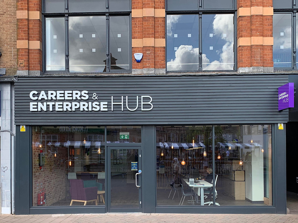 Picture of the Careers and Enterprise Hub in Loughborough