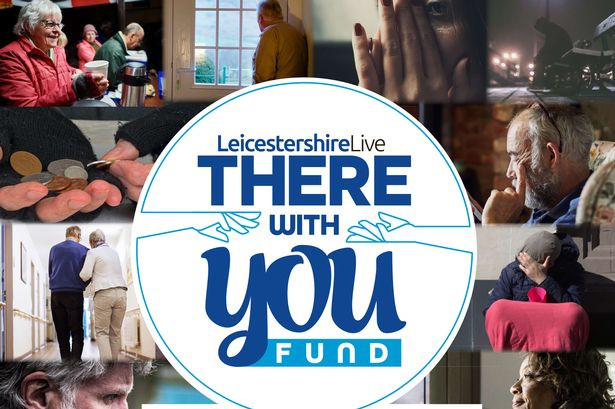 Logo for the LeicestershireLive There With You Fund