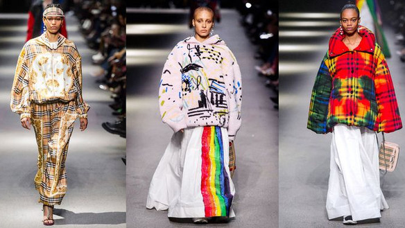 Christopher Bailey takes final bow for Burberry in LFW's LGBTQ collection