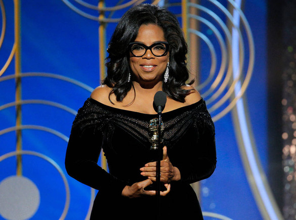 Oprah Winfrey's impassioned call for equality marks the beginning of a new era