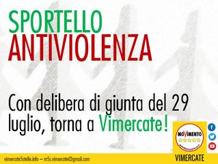 Sportello antiviolenza a Vimercate!