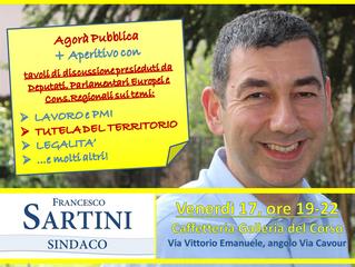 Francesco Sartini Sindaco - Agorà ed Aperitivo!