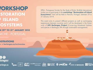 Workshop restoration of island ecosystem