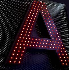 Premium pixel led letters signs