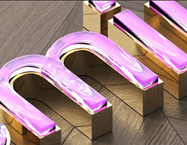 Premium stainless steel letters
