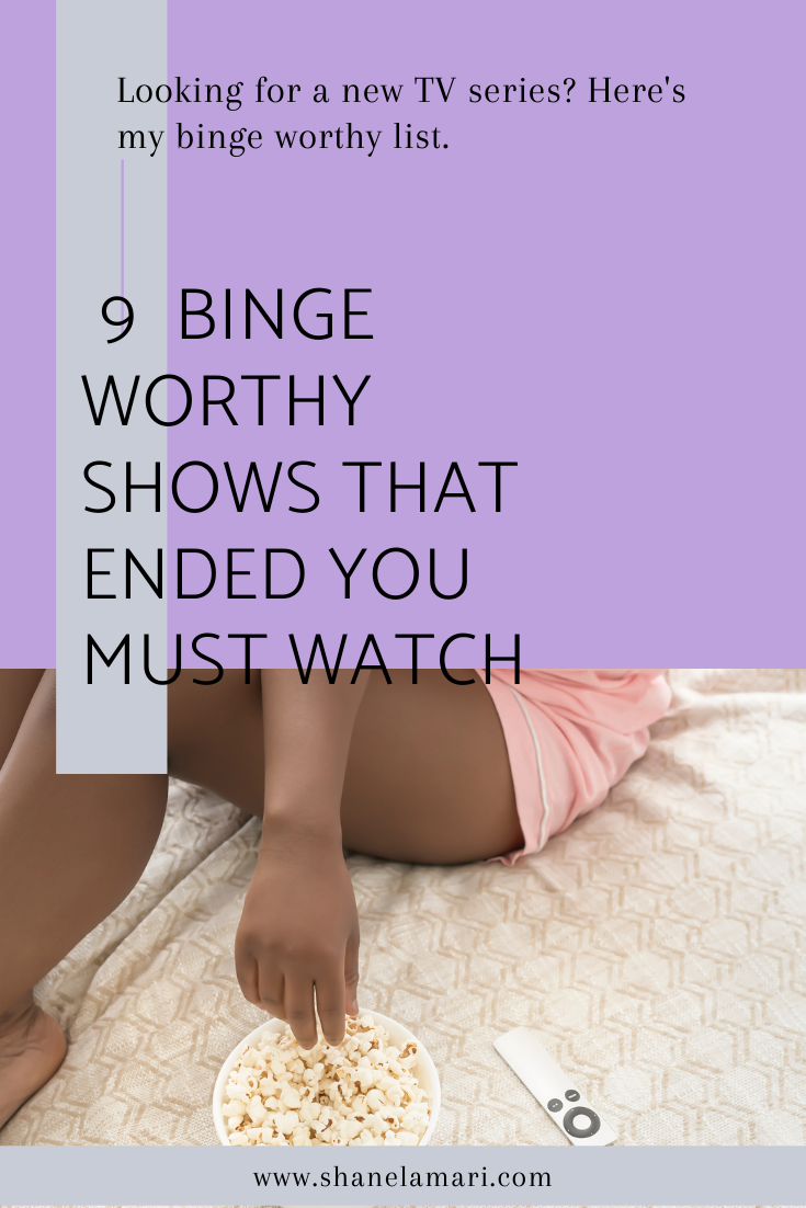 Looking for something to watch? My list of my top 9 favorite binge worthy shows that you must watch is here so you don't have to browse!