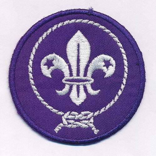 Badge Fun 7cm Mondial Scout