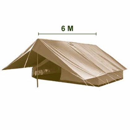 Tente Alpino - Super Patrouille 6x4m (Tente Int.4x4m)