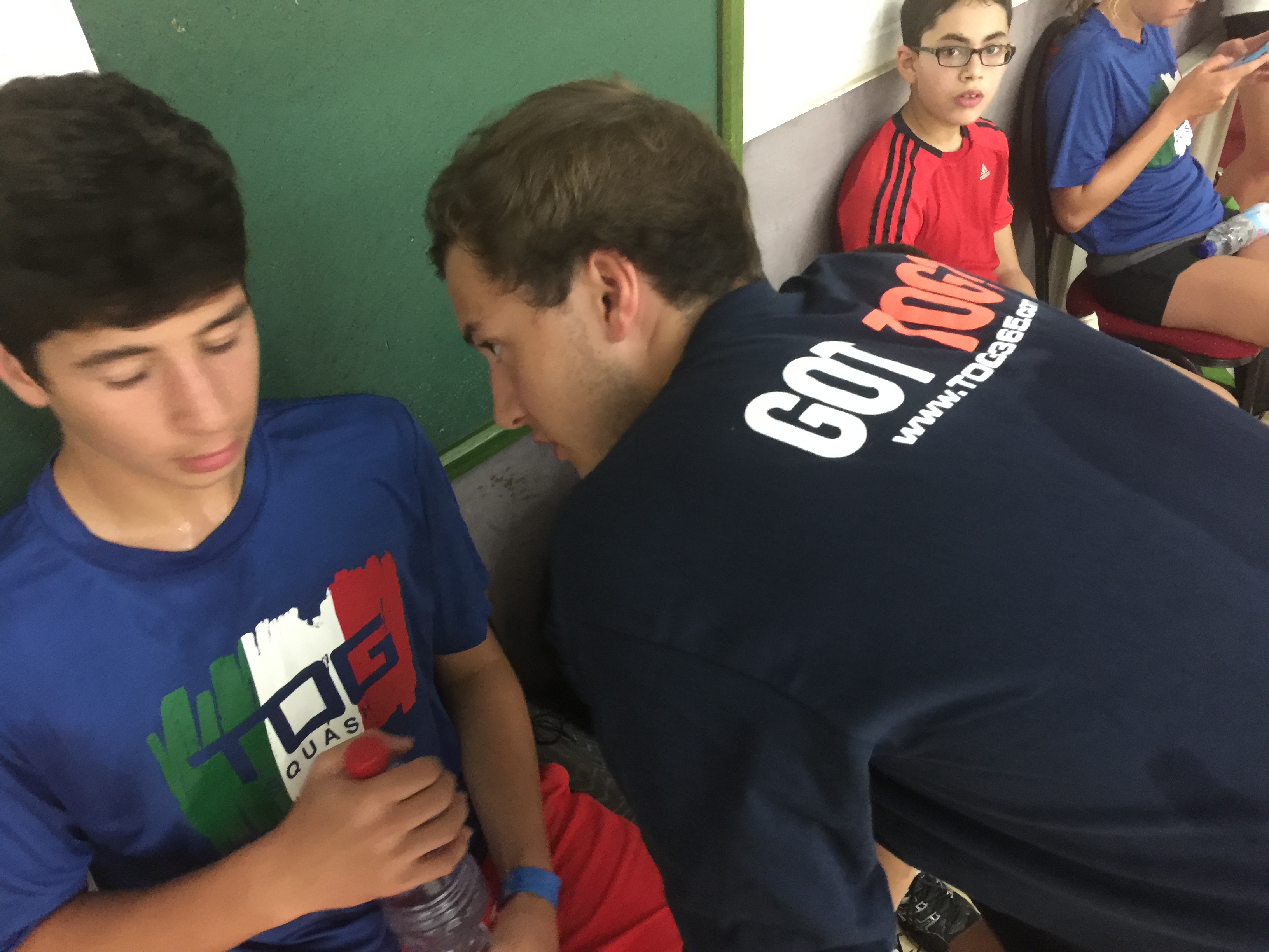 TOG Squash Camp Europe 2015