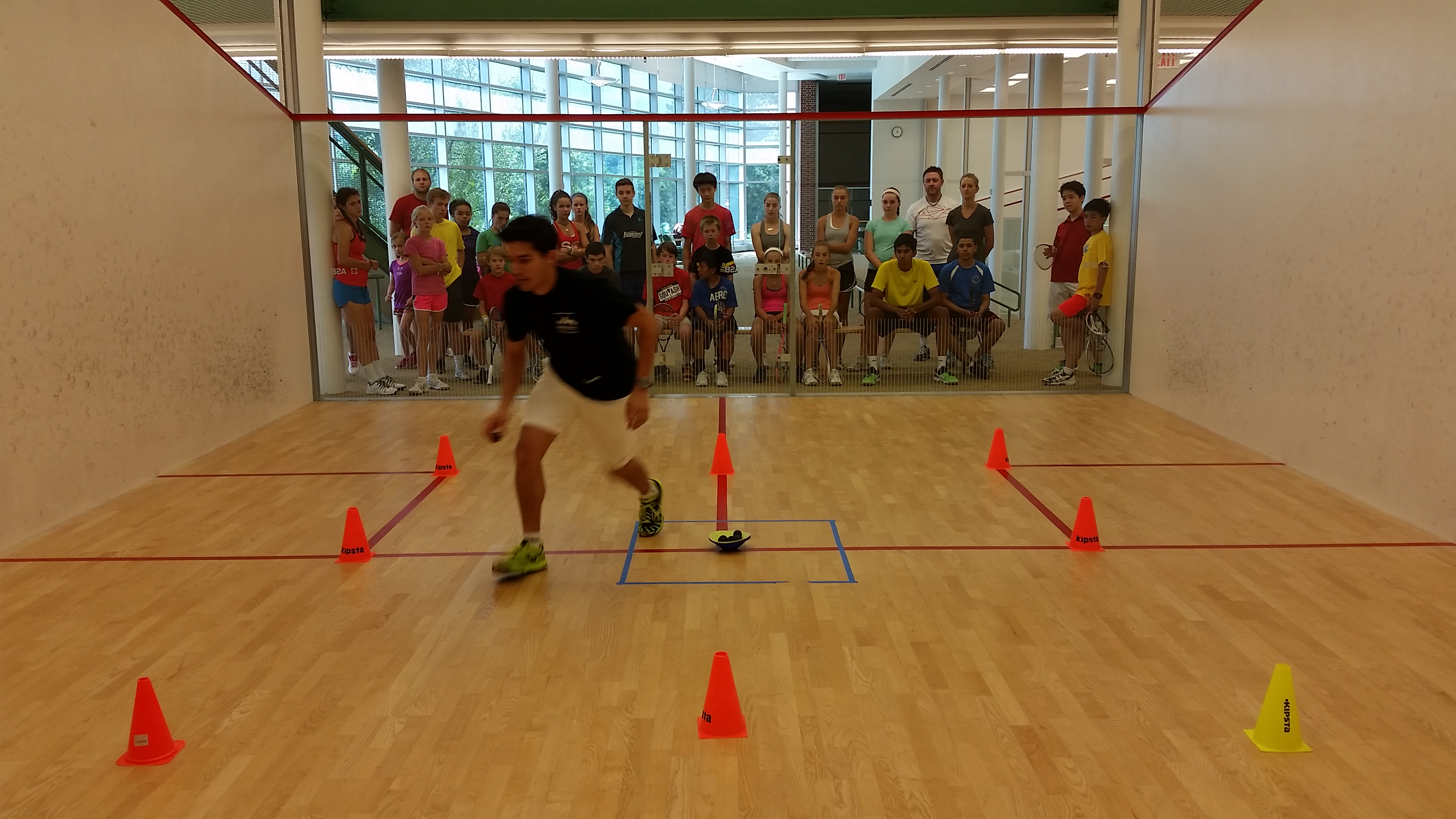 TOG Squash Camp Deerfield 2015