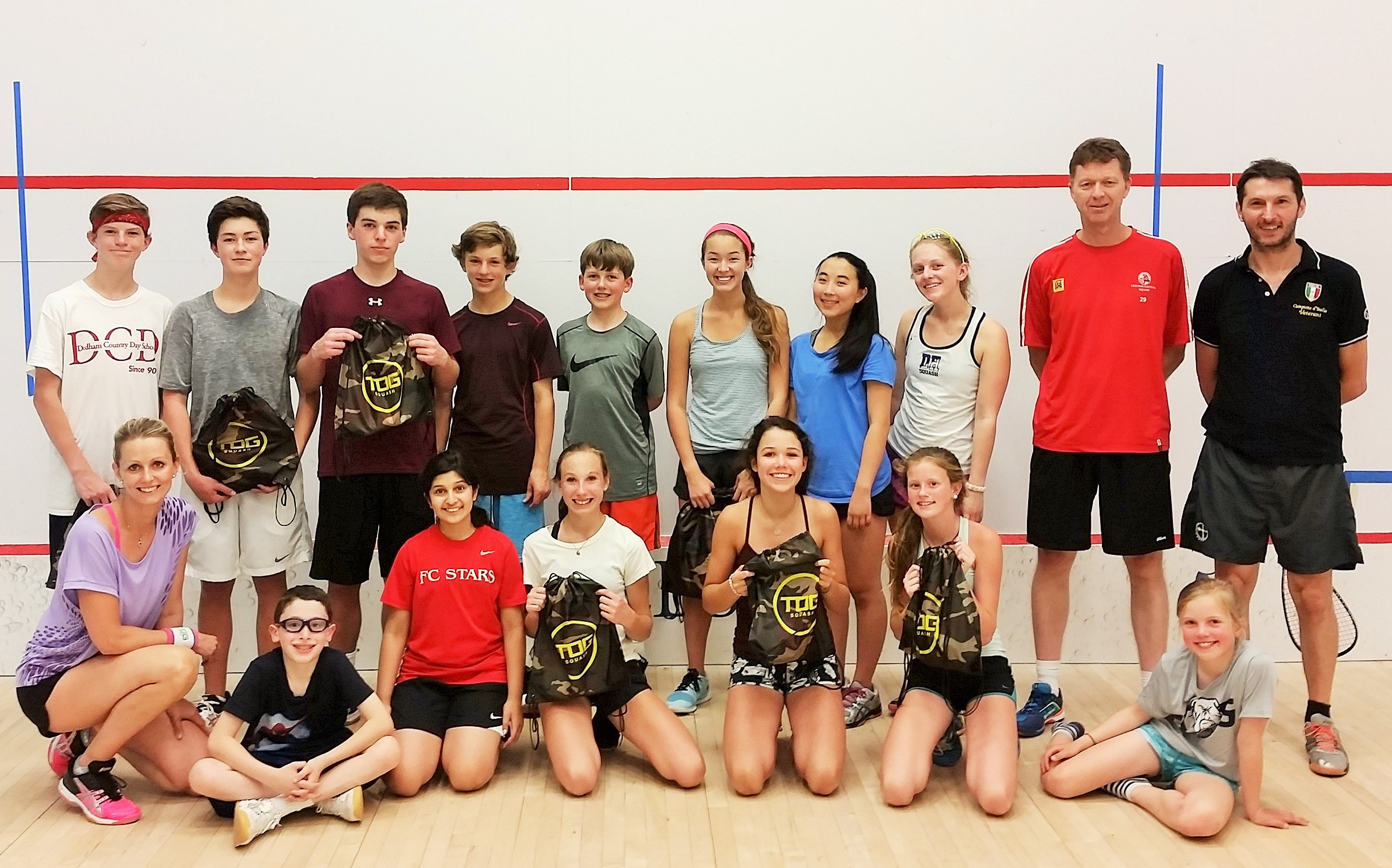 TOG Squash Camp Nobles 2015