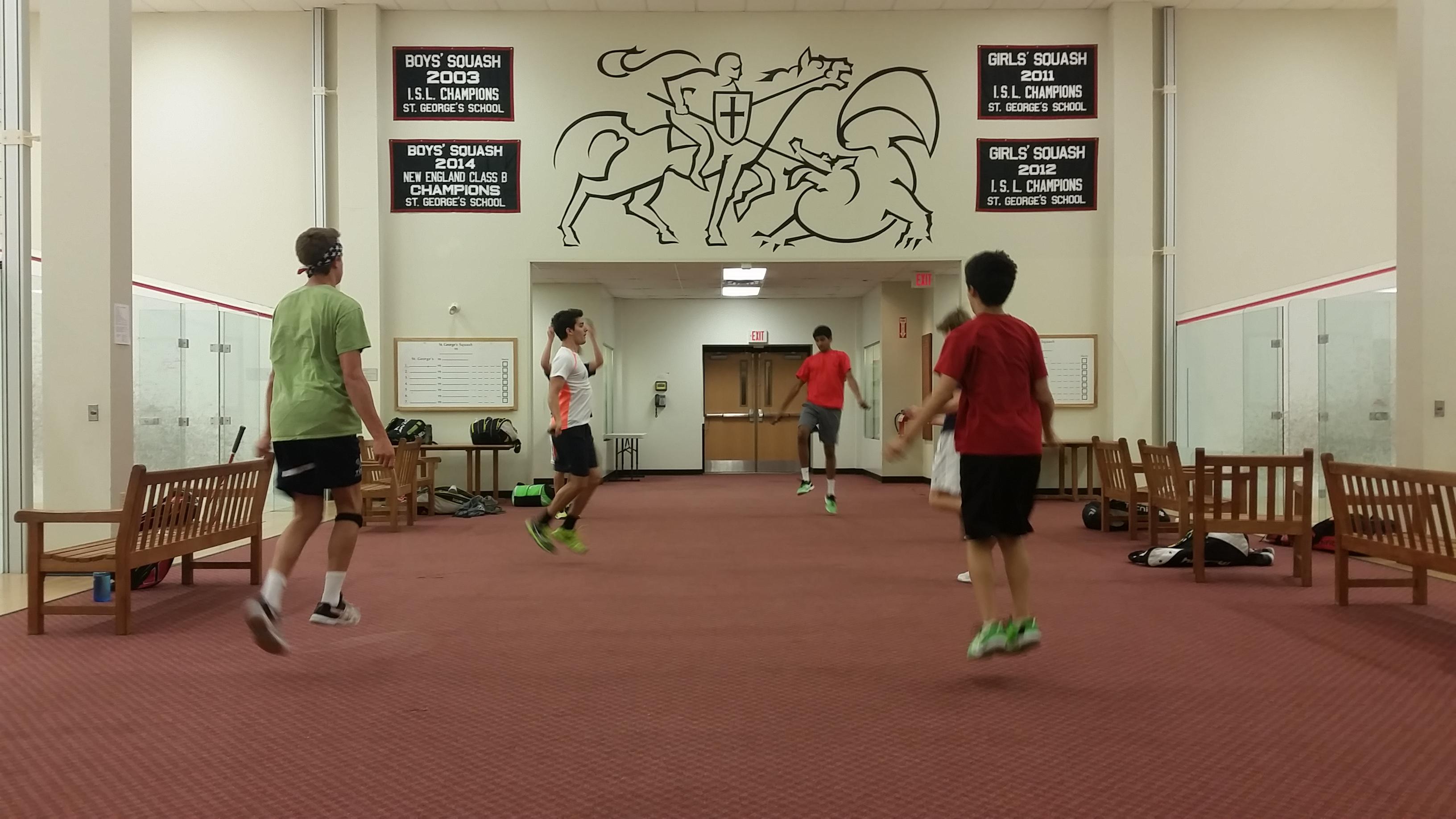 TOG Squash Camp Newport 2015