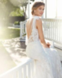Robe de mariée Rosa Clara sensuelle chi