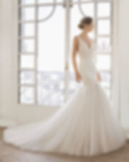 Robe de mariée Rosa Clara sensuelle chic