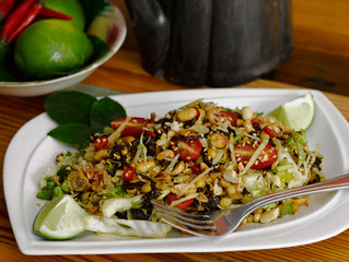 Lahpet Thohk, Burmese Fermented Tea Leaf Salad