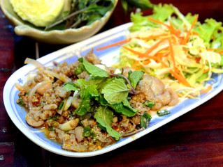 Laos - Food to remember