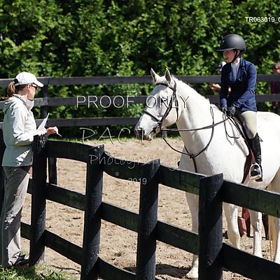 Teen Ranch Ring 1 Novice Equitation Division