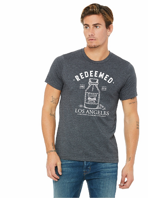 REDEEMED Elixir for Retired Criminals & Mistake Makers - Unisex T-Shirt