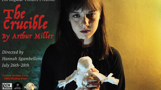 The Regular Theatre presents THE CRUCIBLE