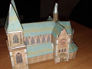 Châteaux-forts, art gothique - Maquettes