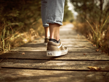 How to walk backwards