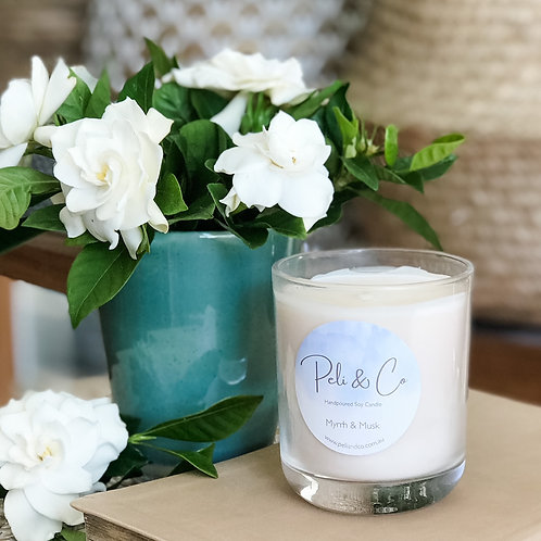 Peli&Co Candle - Myrrh & Musk