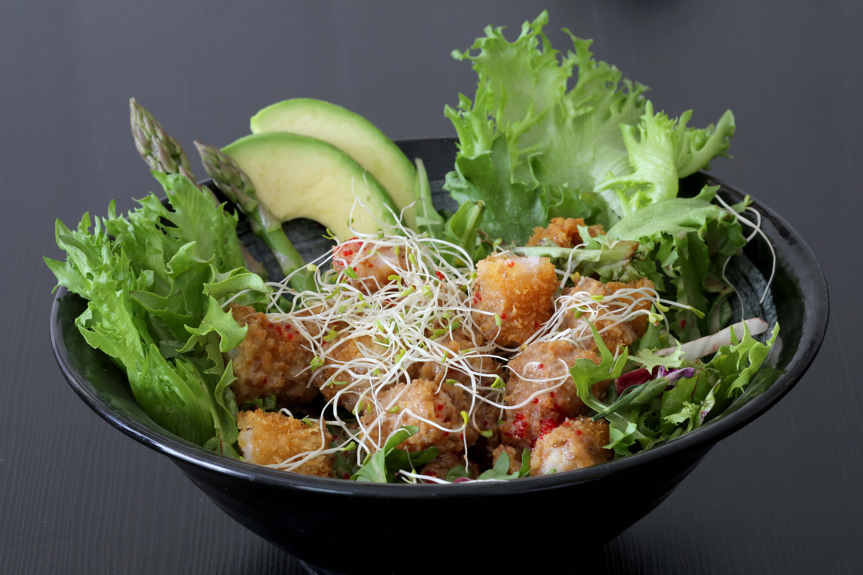 Tempura Salat