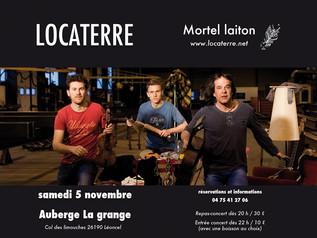 Concert A l'Auberge des Limouches