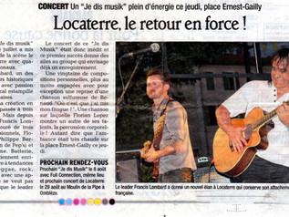 "Concert "" JE DIS MUSIK ""  1er Août 2013 Romans"