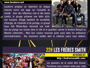Festival de La Voulte Kiosque à Musique 2019