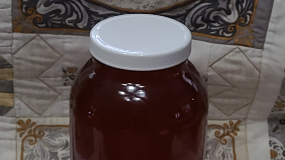 1/2 Gallon Local Raw Honey