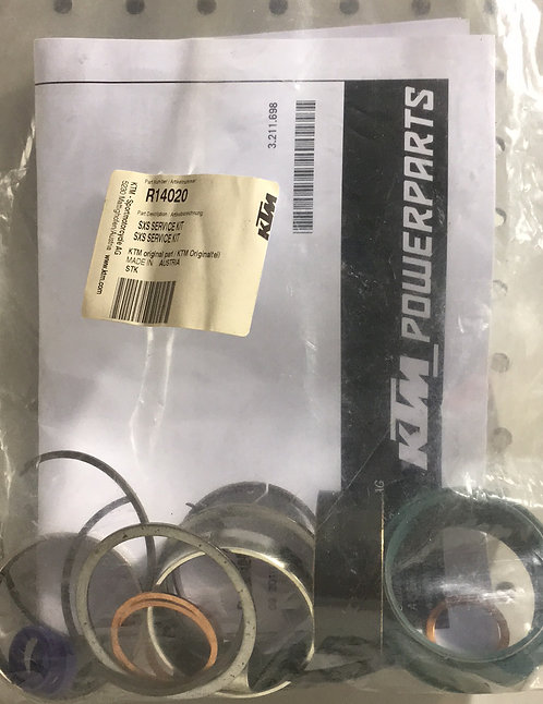 R14020 SXS fork overhaul kit complete with skf seals