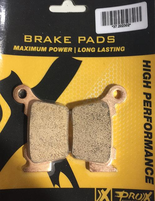 Pro x rear brake pads