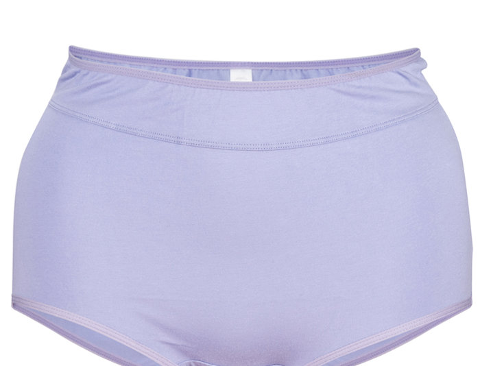 NEW FIT - Comfy Cotton Full Brief Panty 14-36 (Lilac)