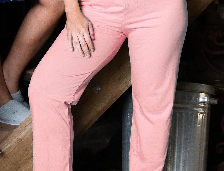 Ultra Comfy Fit Cotton Lounge Pants 14-32 (Pink)