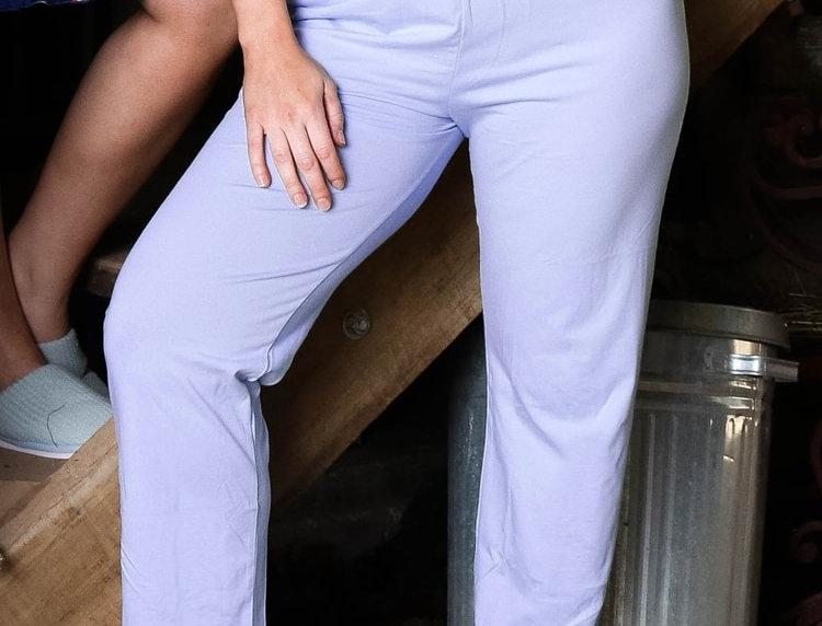 Ultra Comfy Fit Cotton Lounge Pants 14-32 (Lilac)