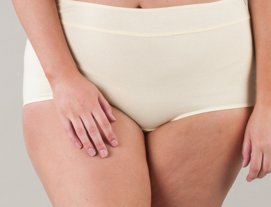 Comfy Cotton Full Brief Panty 14-36 (Yellow)