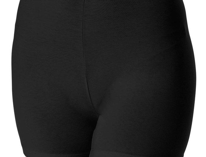 Anti Chafing Cotton Stretch Boxer 18-36 (Black)