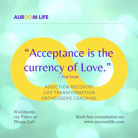 Acceptance is the currency of Love