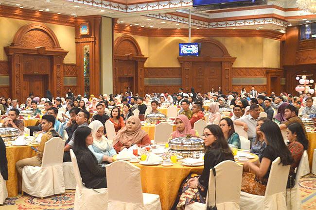 Dinner reception marks Laksamana anniversary