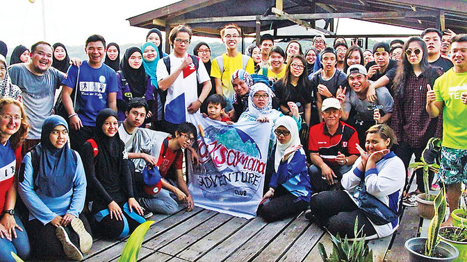 LCB students reach out to Kg Pudak